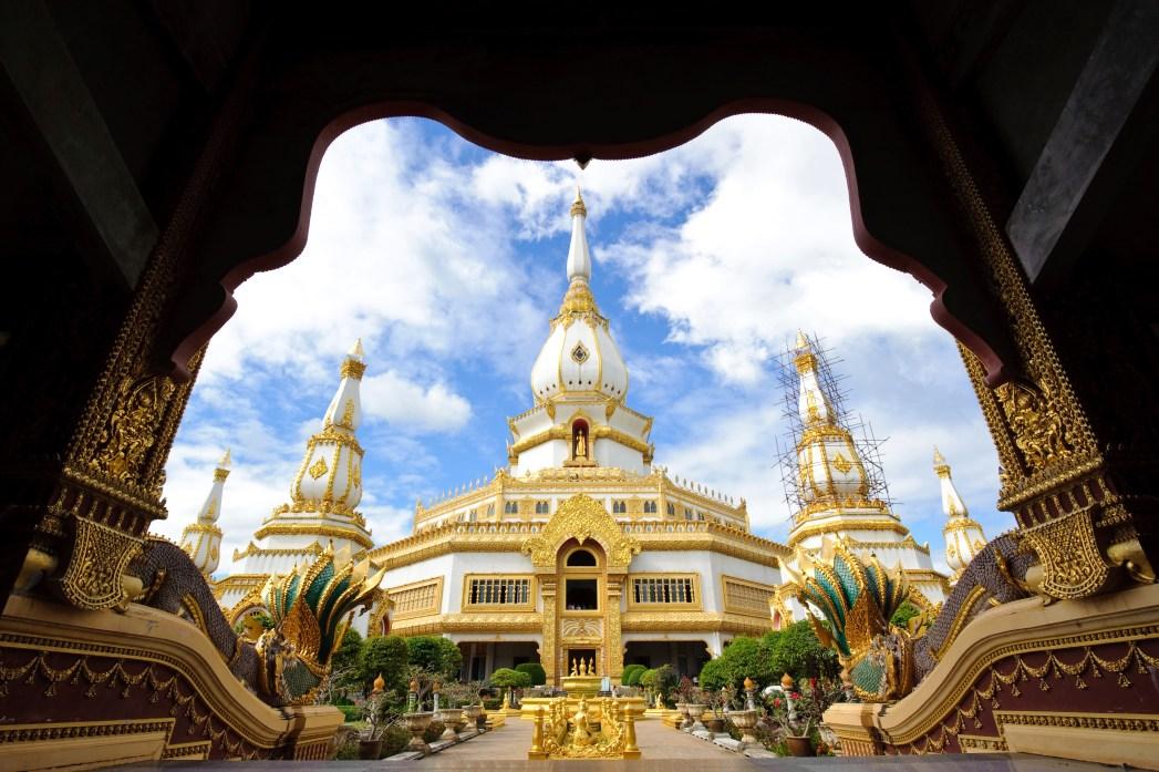 the Grand Palace at Bangkok, Thailand