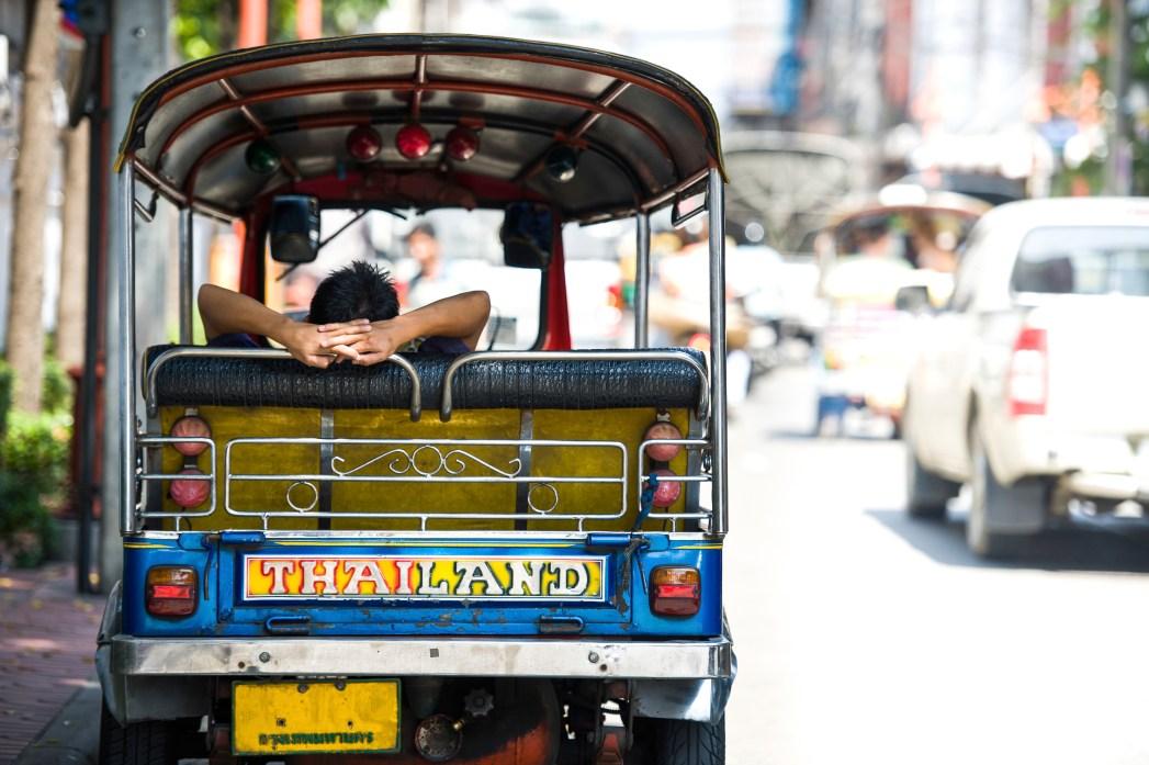 tuktuks in Bangkok, Thailand