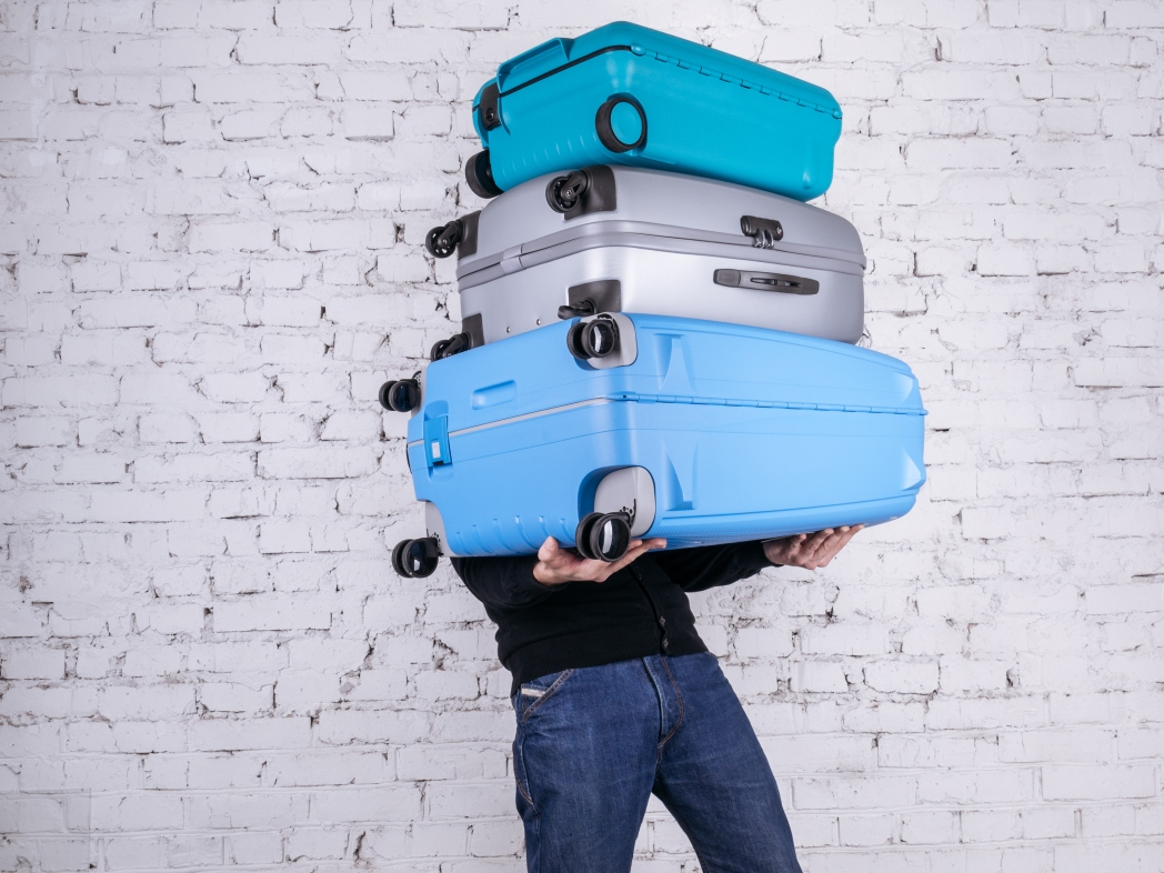 Avoid checking luggage