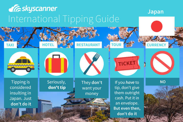 tipping guide Japan