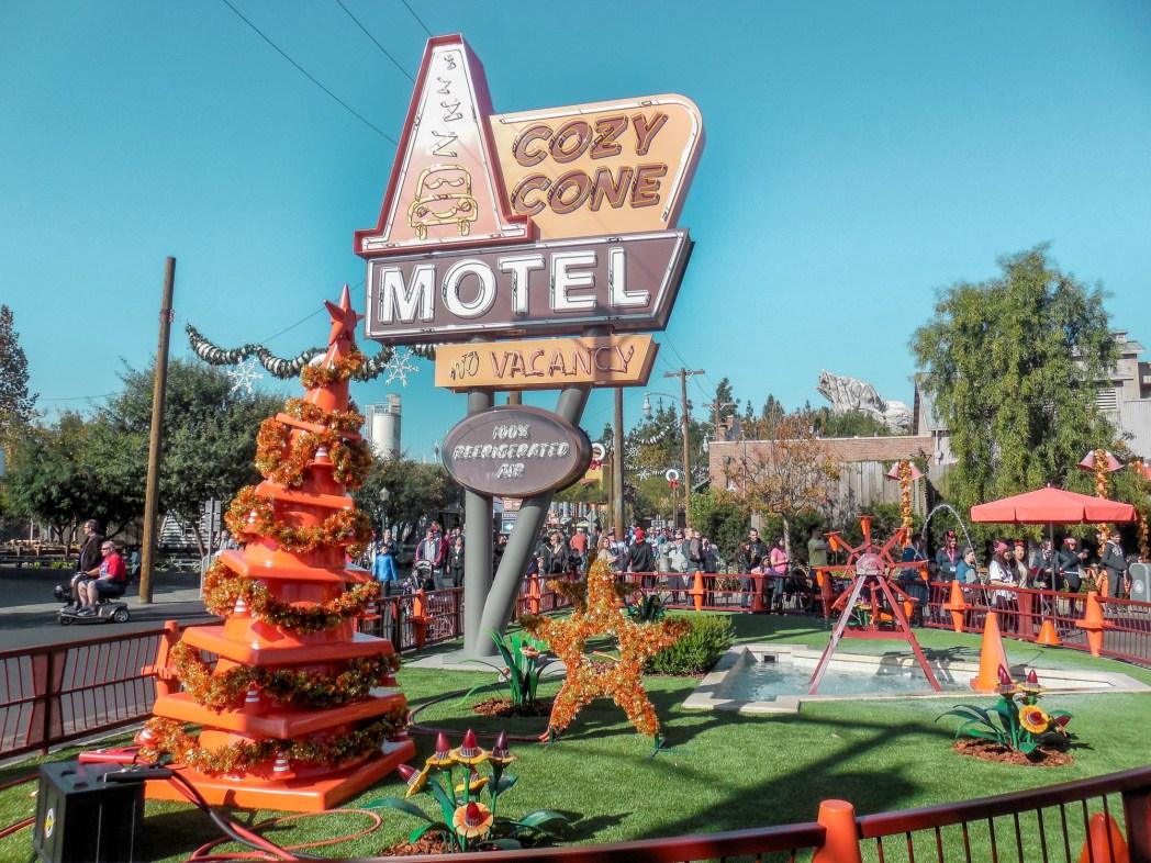 Cars Land in California Adventure Disneyland