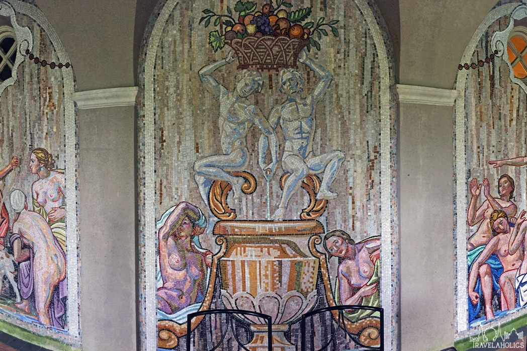 Mural at Dumbarton Oaks. Photo by Mike Shubbuck.