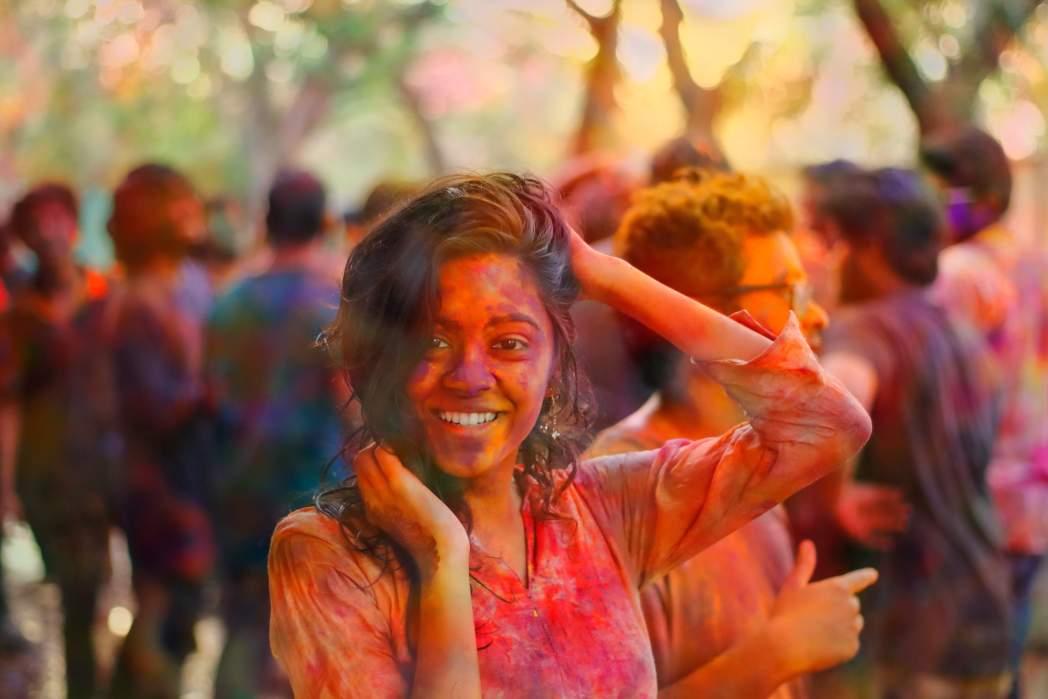 Holi in Hyderabad India