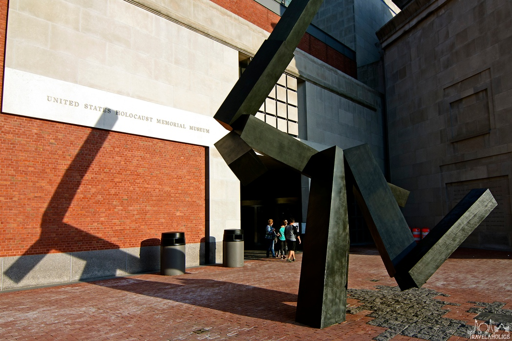 Entrance to the U.S. Holocaust Memorial Museum. Photo by Mike Shubbuck.