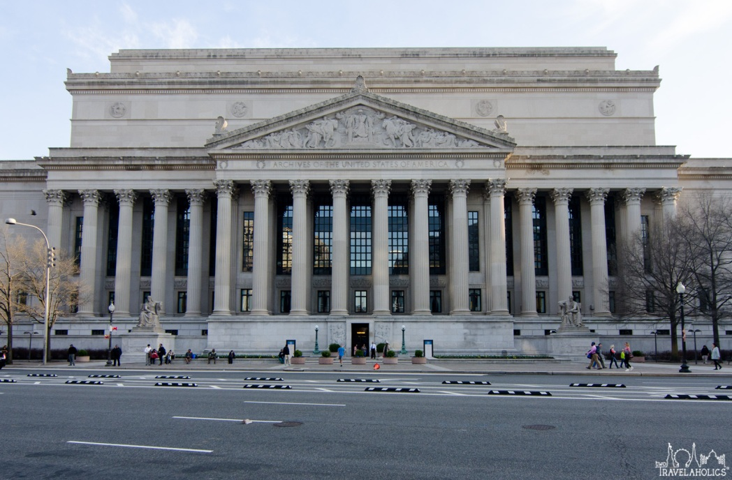 National Archives Museum. Photo by Mike Shubbuck.