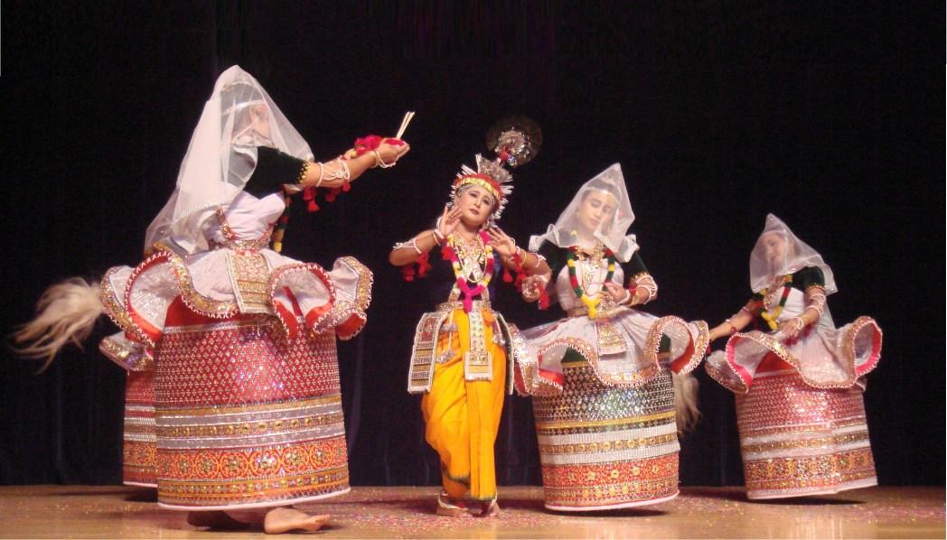 Manipuri Dance in Mumbai India