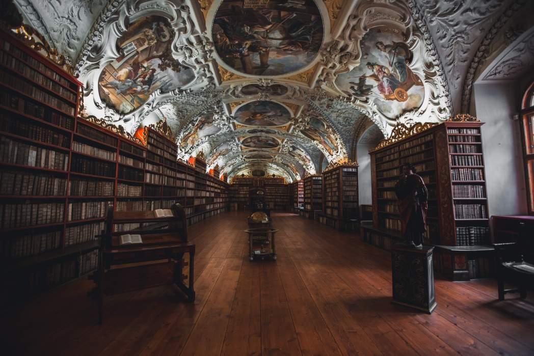 Strahov Monastery and Library in Prague
